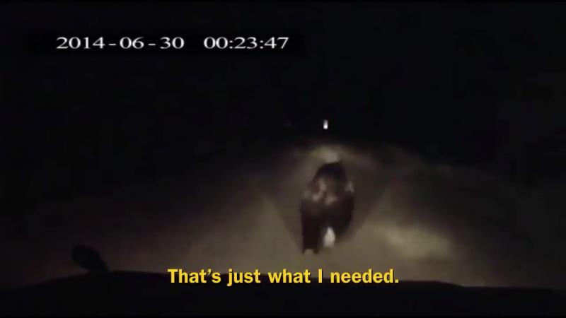 [Анжелика Сталиновская] Фильм полностью состоящий из записей с автомобильных регистраторов