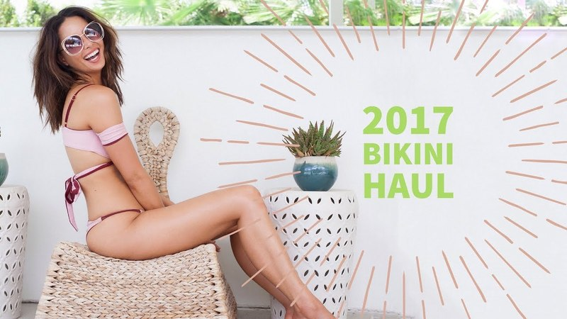 2017 Bikini Haul | My Favorite Swimsuits of 2017 | Aja Dang