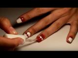 Маникюр с помощью  скотч-ленты для ногтей
