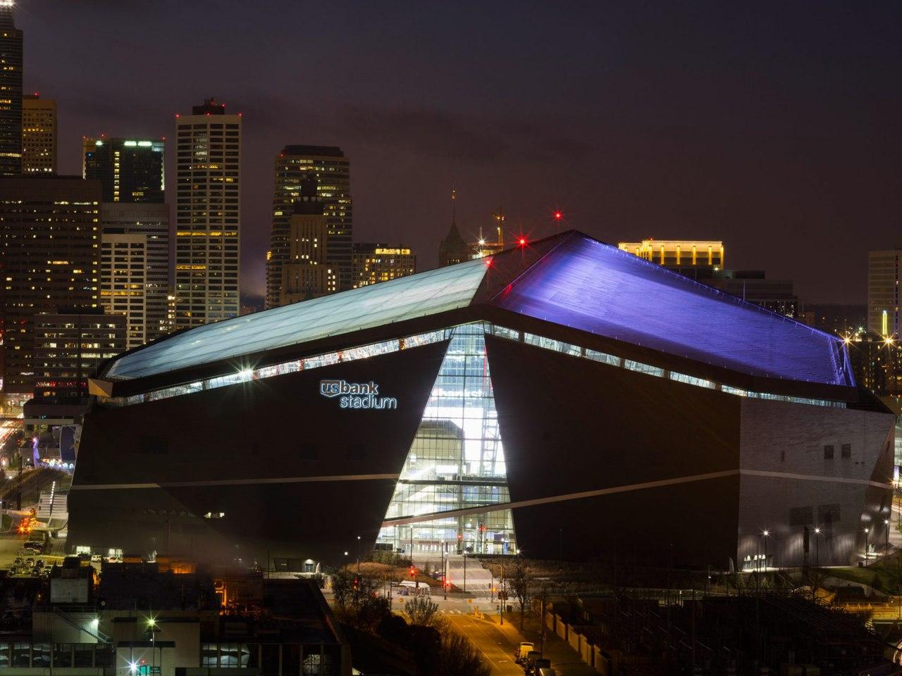 HKS/ Стадион в Миннесоте, США