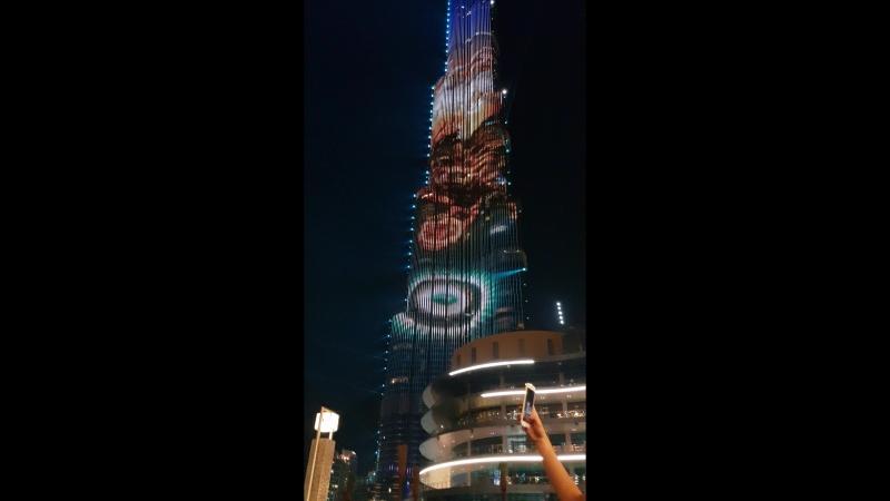 Лазер шоу НГ по китайскому в Дубаи