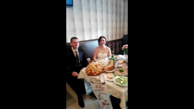 Снимаю свадьбу прекрасных человечков