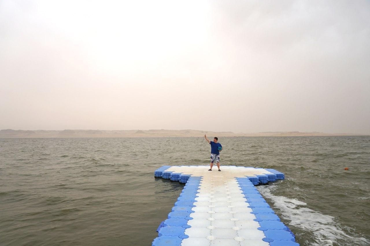 Очень необычный отдых в Египте