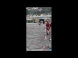 Спринт 200 м на лыжероллерах_Ташов Исхакбек_21сентября2017