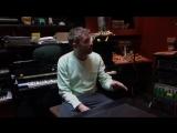 Damon Albarn in the studio with the Orquesta de Cateura