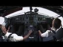 Камеры в кабине пилотов. Заход в Майами