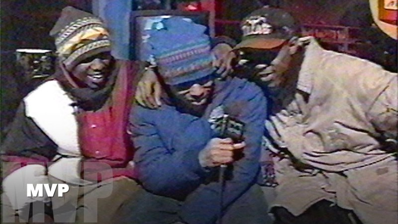 MVP - Fresh Has Jus B-gun Trilogy LIVE on Rap City (1994, MuchMusic)