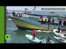 Gaza des embarcations de pêche tentent de briser le blocus maritime israélien