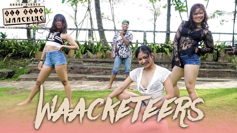 Waacketeers (INA) | Showcase | AAWF 2018 Grand Finals Bali, Indonesia by Etoile Dance