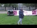 Serge Menga, Rede in Mainz 30.4.2018, Merkel muss weg - Montagsdemo