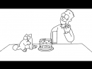 Simon's Cat in 'Purrthday Cake' Episode 74 A 10th Birthday Special