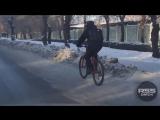Сибирский велосипедист, Омск
