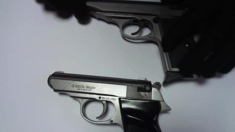 Обзор Стартового пистолет Ekol Majarov Новинка