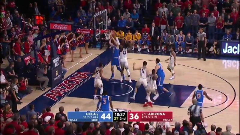 UCLA at Arizona _NCAA Mens Basketball February 8, 2018