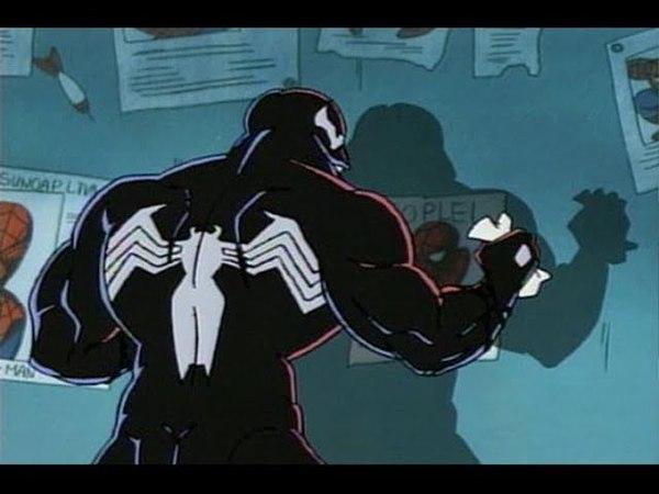 Человек паук против Венома Месть Эдди Брока часть 1 Мультсериал 1994