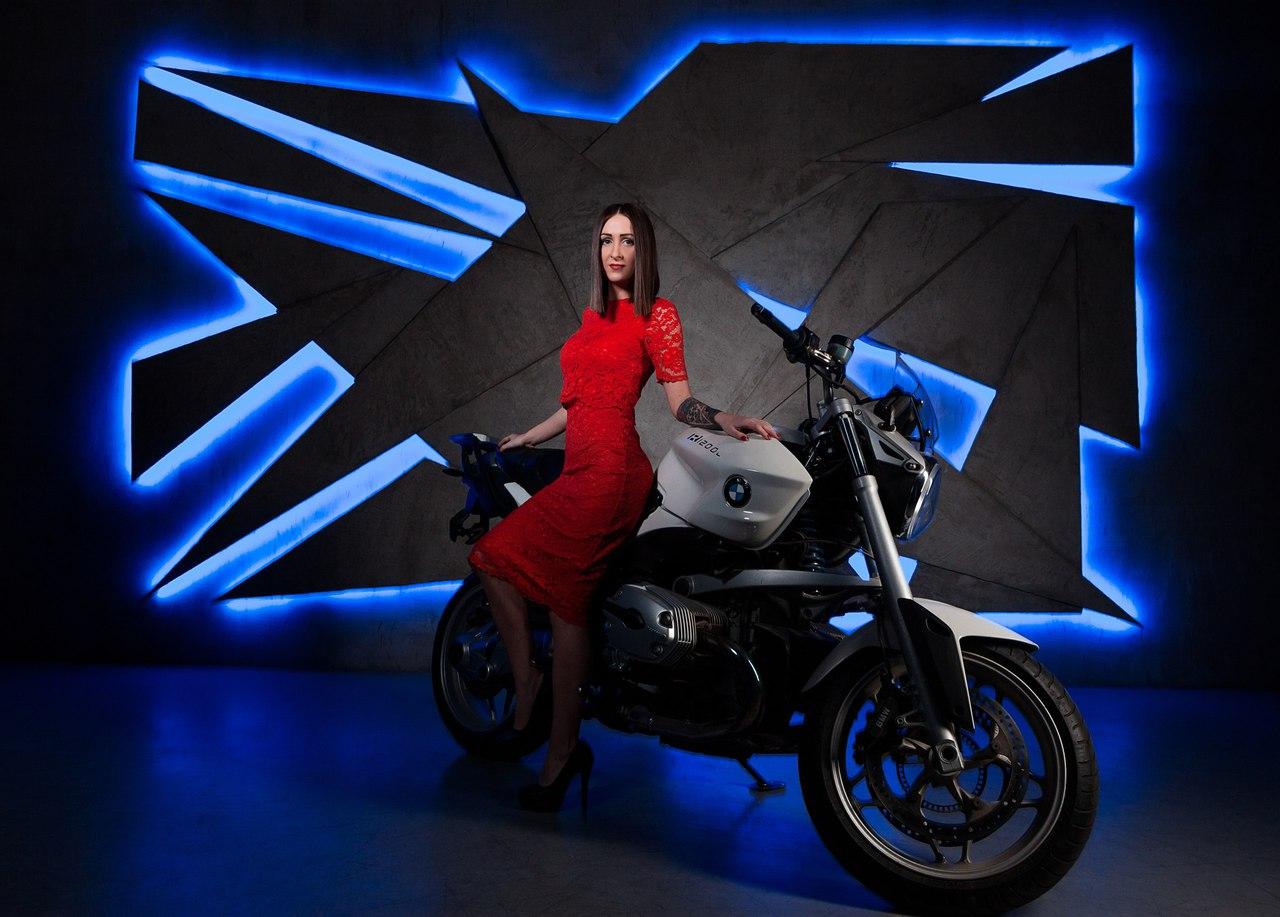 Фотостудии с мотоциклом спб
