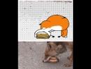 Голодная лесичка...