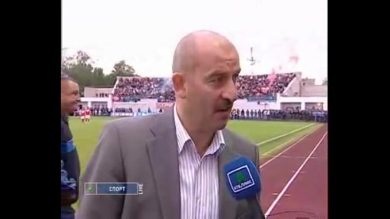 Интервью Черчесова после неудачной игры
