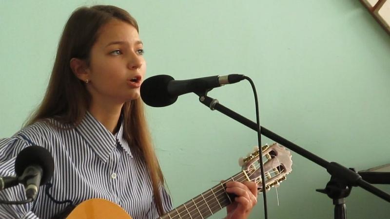 «Музыкант» Б.Окуджавы, поёт Милена Сычева.