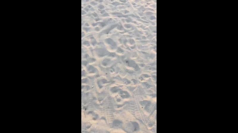 На закате у моря..пляж по ул.Симферопольская