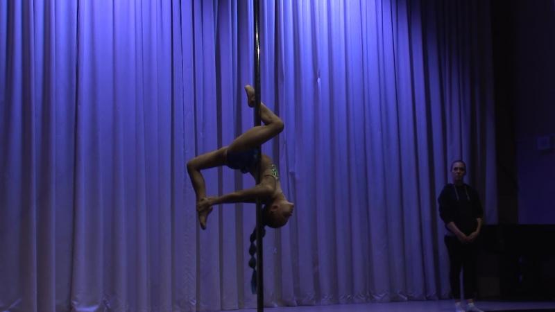 Линда Анимподистова   Pole Artistic Дети   2017 Другие Танцы Осень