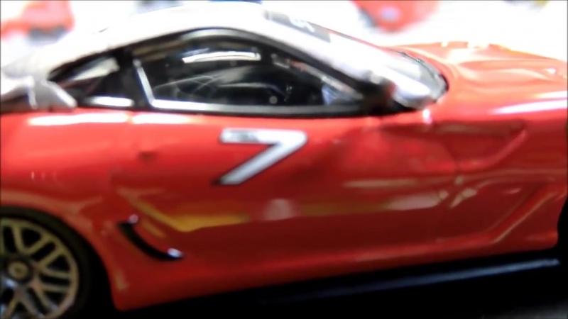 Kyosho 1-64 Ferrari Rancing 2 599XX red