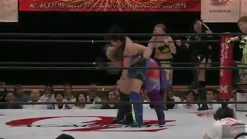 5. AKINO, Kagetsu, Kaho Kobayashi Sonoko Kato vs. Aja Kong, Dynamite Kansai, Manami Toyota Rina Yamashita (5/1/16)
