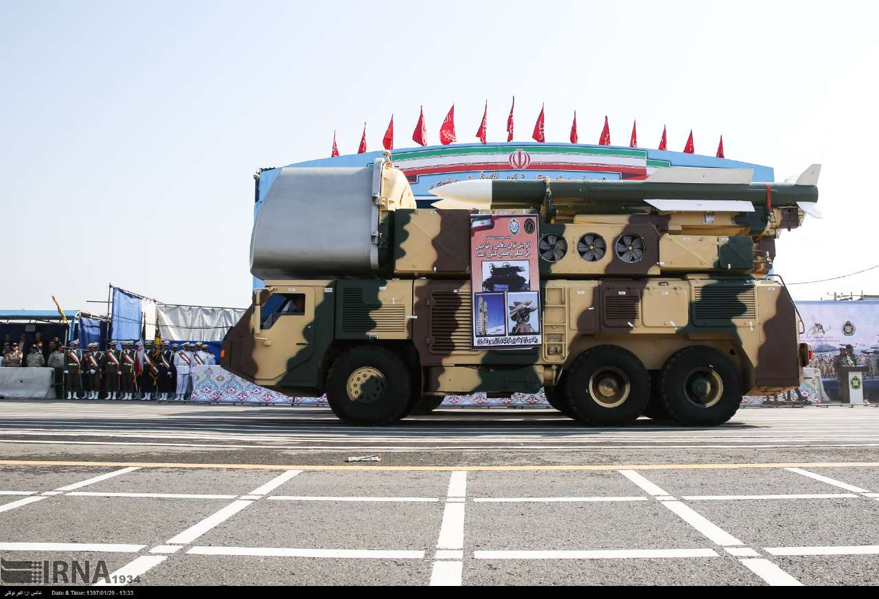 Военный парад в Тегеране