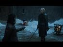Igra prestolov Arya Stark protiv Brienny Tart
