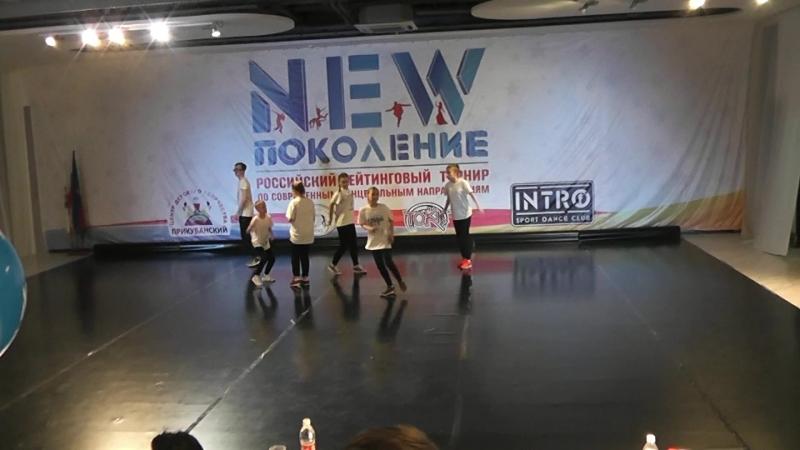 Хип хоп, SK team, конкурс, 1 место. 21.04.18, Краснодар.
