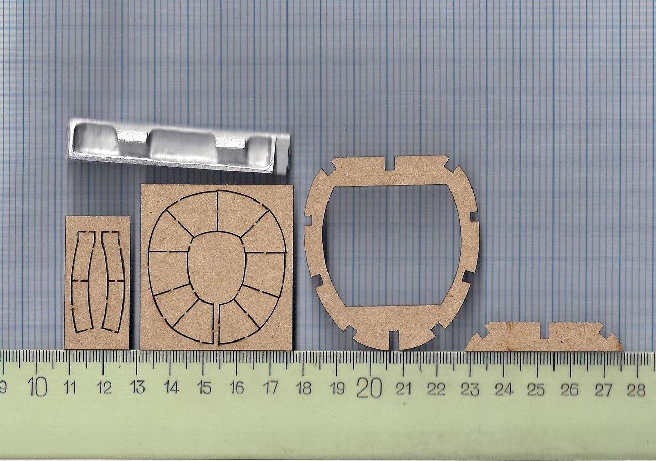 Соберите ИЛ-2 - Сканы деталей журнала