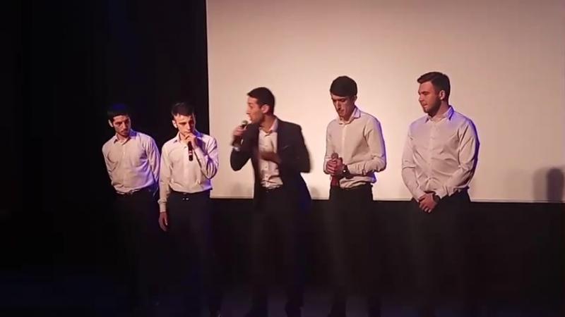 Финал Открытой Лиги КВН «UNITED» 2017: «Приветствие» команды «Там-Тут»