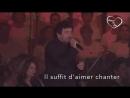 Patrick Bruel et 1000 choristes_Place des grands hommes_ete 2017