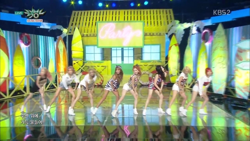 Girls Generation -PARTY @ MUSIC BANK_2015.07.10