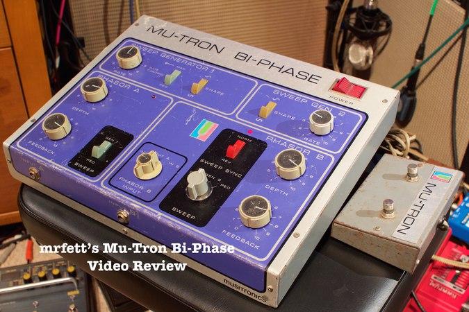 Mrfetts Mu-Tron Bi-Phase Review