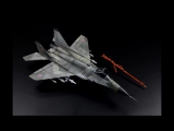 MiG-29 SMT Fulcrum - 1-72 scale Trumpeter model kit - aircraft model