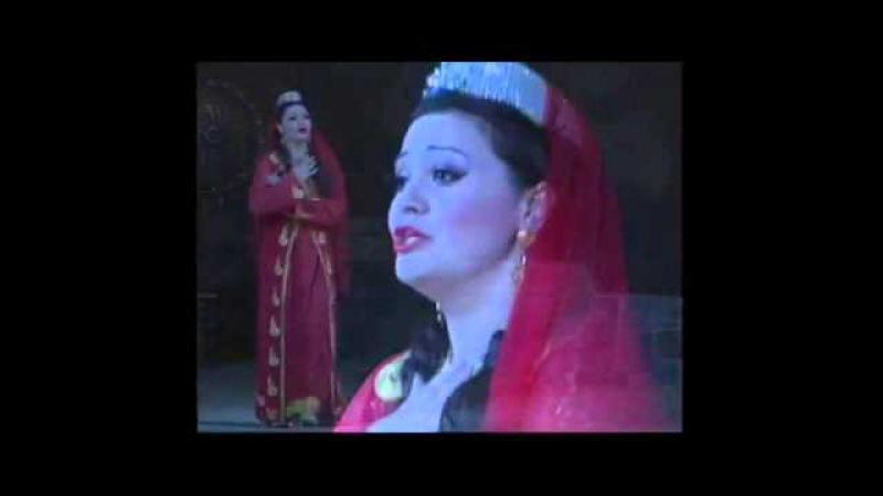 İlahə Əfəndiyeva - Nigarın ariyası - Hanı o günlərim ( Koroğlu - Üzeyir Hacıbəyov )