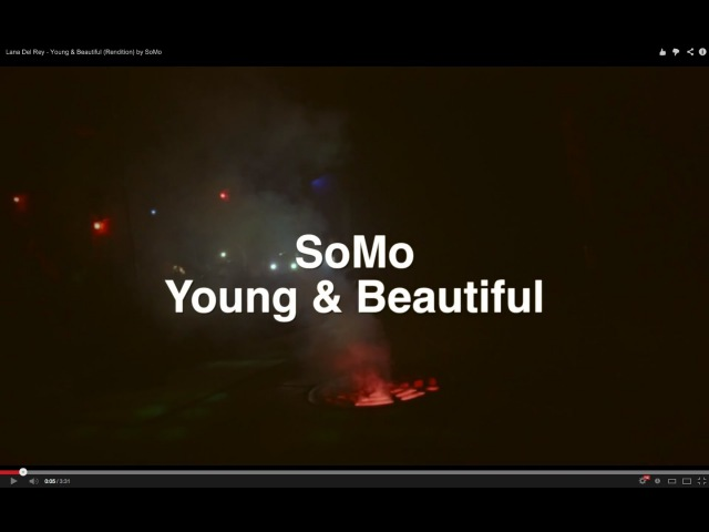 Lana Del Rey - Young Beautiful (Rendition) by SoMo