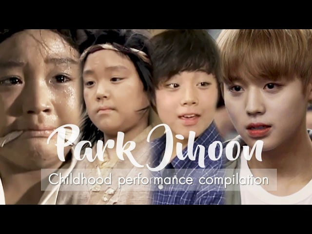 Wanna One's Park Jihoon 박지훈 From child actor to K-Pop Idol