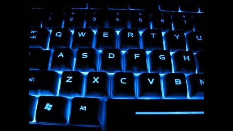 Как сделать подсветку клавиатуры / How to make the keyboard backlight (Prank)