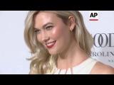 Kloss oozes charm at new Carolina Herrera fragrance launch