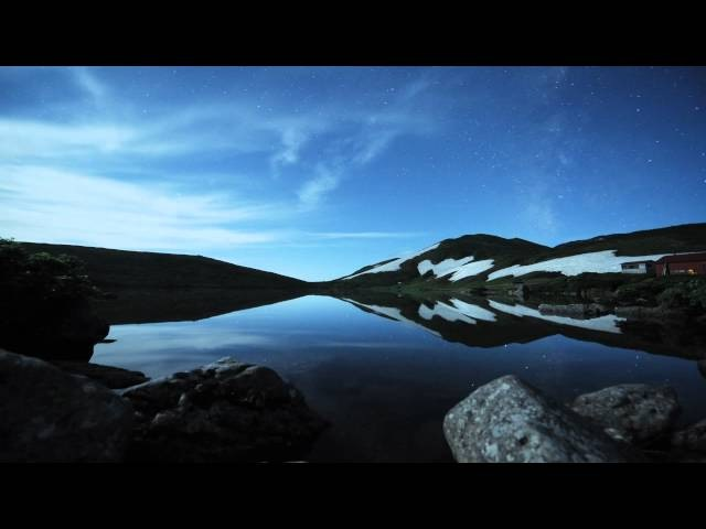 Black Blue White -Hakuba Time Lapse-
