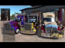 катаемся с пацанами в American Truck Simulator: kv как обычно с ума сходит) 15