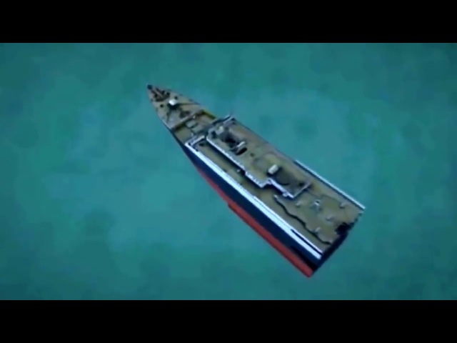 Титаник тонет (2012)