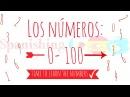 The numbers in Spanish 0 to 100 | Los números en Español | Aprende los números en Español e Inglés