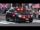 Police responding - BEST OF 2016 - Siren, horn action with police cars