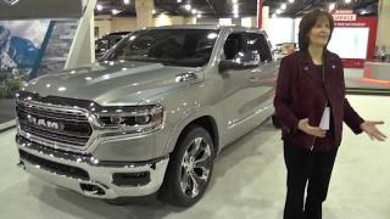 2019 Ram 1500 has 12 touch screen new features @ PHL Auto Show