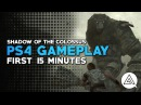 Shadow of the Colossus PS4 Pro Gameplay - First 15 Minutes