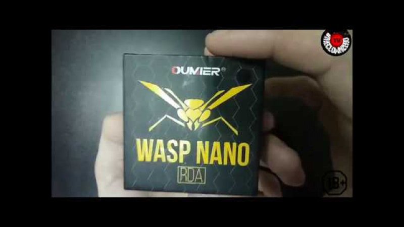 Wasp nano rda | Oumier | Самая маленькая дрипка!