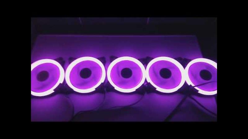 Aigo Aurora C5 дешевые RGB кулеры Aliexpress